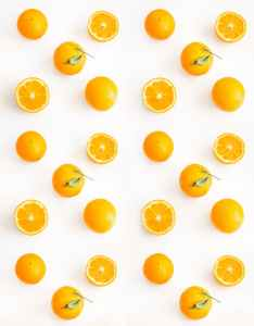 photo of sliced orange citrus fruits
