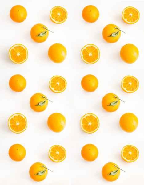 photo of sliced orange citrus fruits